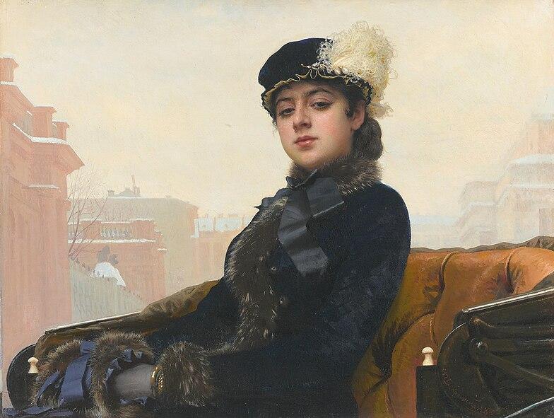 Dona desconeguda, d'Ivan Kramskoy