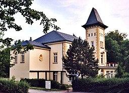 Kreischa: The town hall of Kreischa.