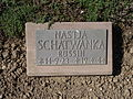 Kriegsopferfriedhof Kloster Arnsburg Grabstein Nastja Schatwanka, Russin.JPG