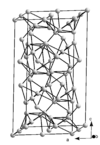 A δ-Ga kristályrácsa
