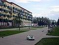 Kstovo. Mir Boulevard near Mir Square.jpg