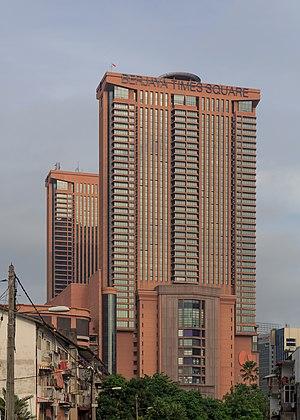 Berjaya Times Square - Berjaya Times Square Kuala Lumpur, as seen at the Jalan Pudu-Jalan Imbi junction.