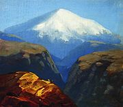 Kuindzhi Elbrus in the daytime 1890 or later.jpg