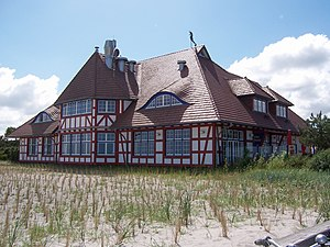 Zingst - Kurhaus Zingst (spa hotel at the beach)