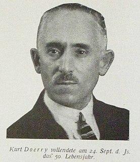 Kurt Doerry German athletics competitor