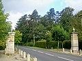 L'Isle-Adam (95), grille de L'Isle-Adam, RD 64.jpg