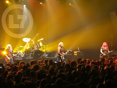 Picture of a band or musician: L7