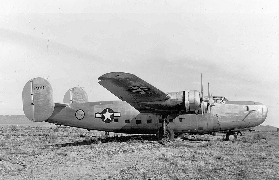 LB-30 Liberator with RAF Serial under Air Transport Command