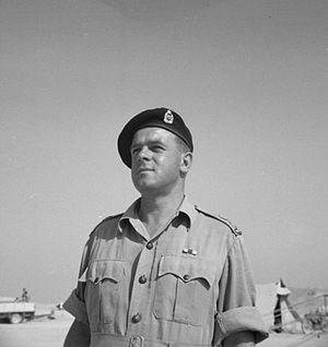 18th Battalion (New Zealand) - Lieutenant Colonel Clive Pleasants oversaw the conversion of the 18th Battalion from infantry to armour and led it through the early stages of the Italian Campaign