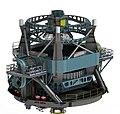 LSST Telescope design - model in the zenith position.jpg