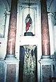 La Cappelletta, 1983, la statua di Santa Lucia.jpg