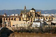 La Mezquita from Calahorra Tower - Córdoba (2).JPG