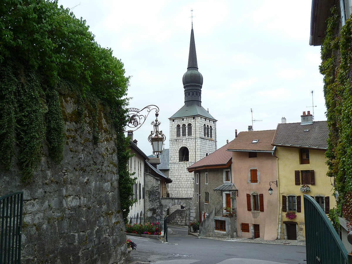 Glise saint jean baptiste de la roche sur foron wikip dia - La roche sur foron office du tourisme ...