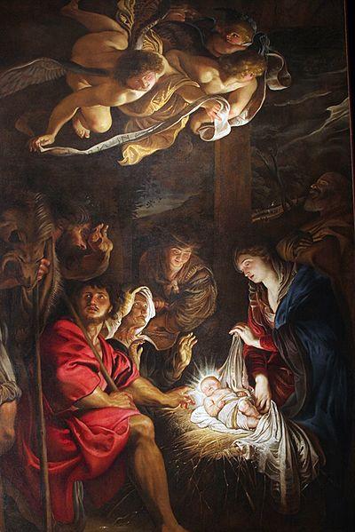File:La adorazione dei pastori (Rubens, Fermo).jpg; Art Advent Calendar