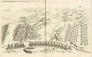 Morean War - The Battle of Kalamata, by Vincenzo Coronelli