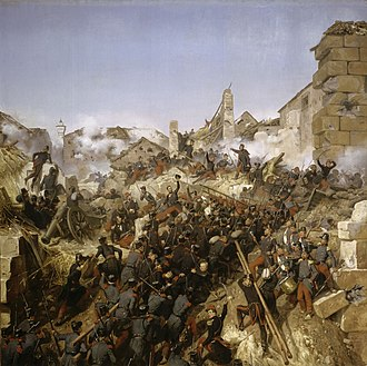 Origins of the French Foreign Legion - Siege of Constantine, by Horace Vernet