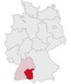 Lage des Regierungsbezirkes Tübingen in Deutschland.png