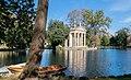 Laghetto and Tempio di Esculapio in Villa Borghese 07.jpg