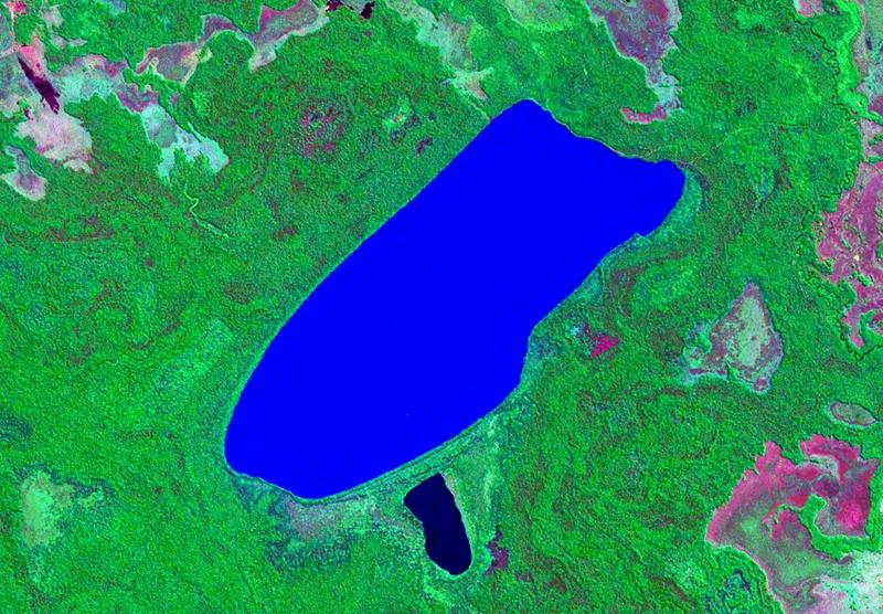 File:Laguna San Jorge Bolivia Satelital map 63.86135W 15.png