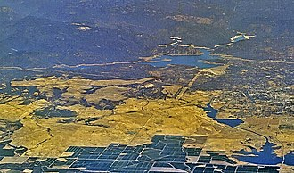 Oroville–Thermalito Complex - Image: Lake Oroville aerial