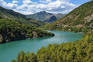Mat (river) - Shkopet reservoir