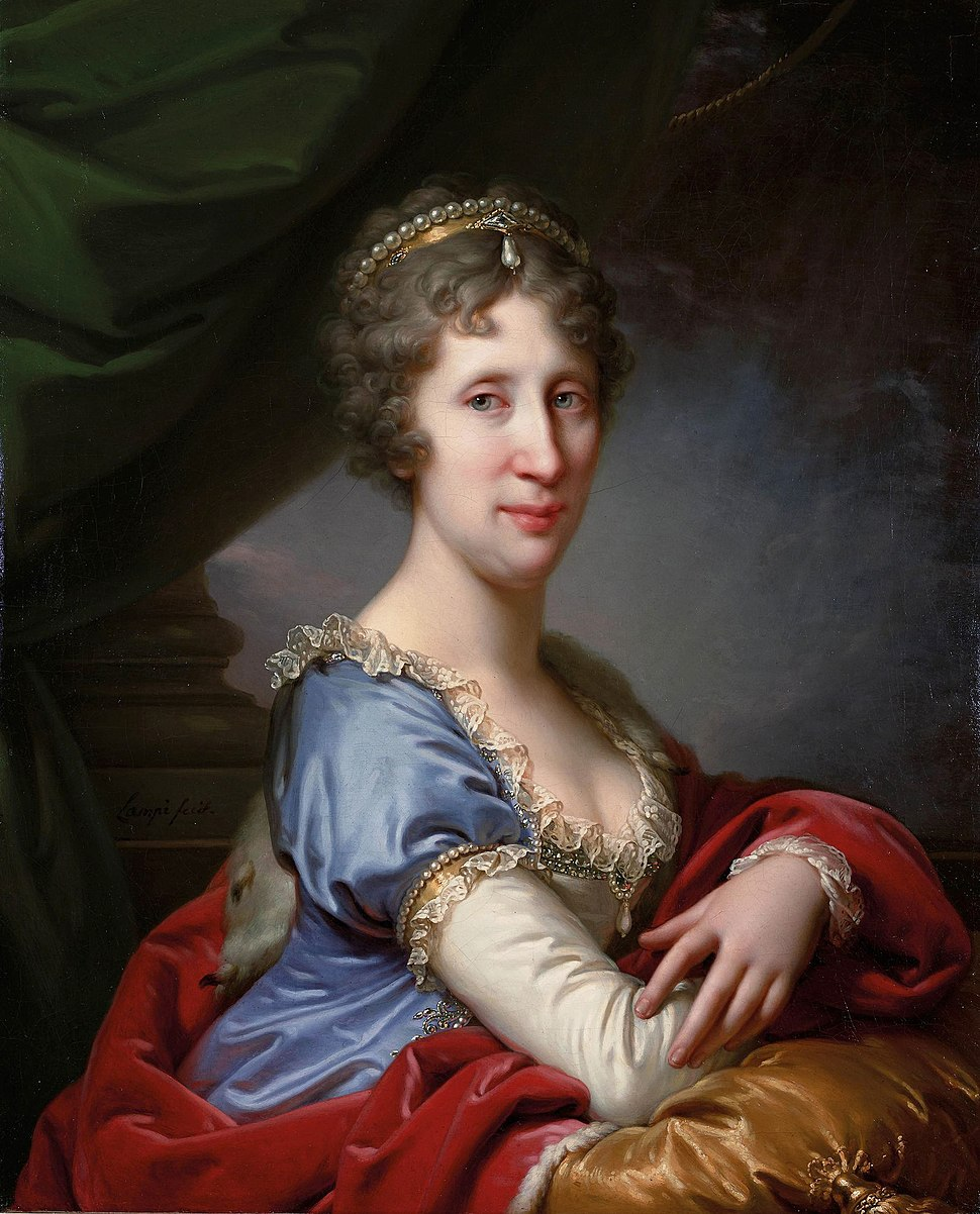 Lampi - Maria Theresa of Naples and Sicily