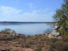Lake Meredith nahe Fritch, TX