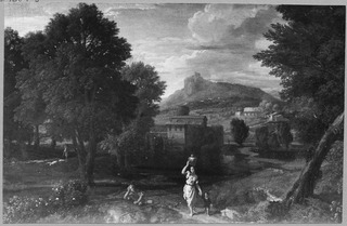 Landscape with a Woman Carrying a Pitcher