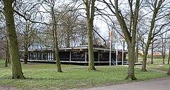 Pabellón de exposiciones de Landskrona (1963), junto con Sten Samuelson}}