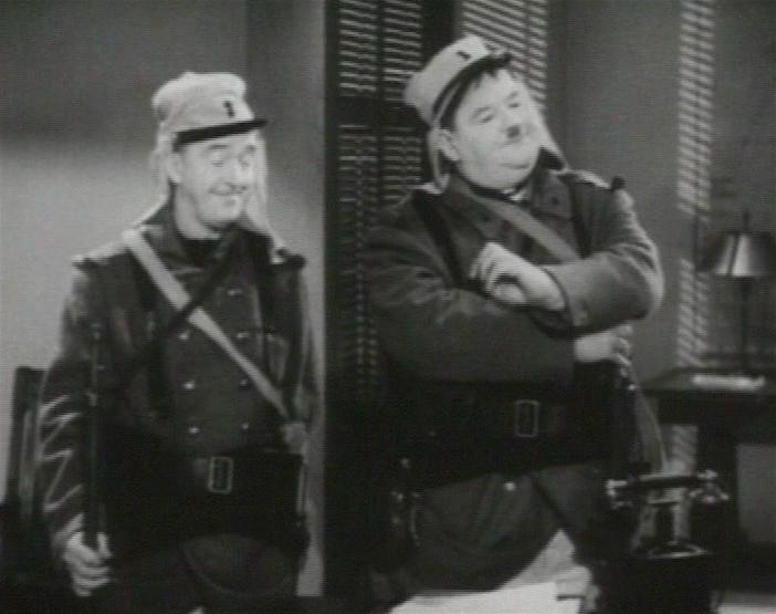 Laurel & Hardy in Flying Deuces 2 edited