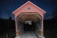 Laurel Creek Covered Bridge - Night.jpg
