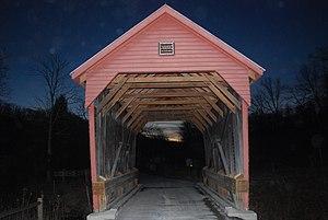 Laurel Creek Covered Bridge - Laurel Creek Covered Bridge, February 2009
