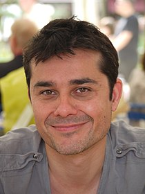 Laurent Binet - Comédie du Livre 2010 - P1390905.jpg