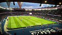 Le Paris Saint-Germain reçoit l'AS Monaco au Parc en Coupe de France le 26 avril 2017.jpg
