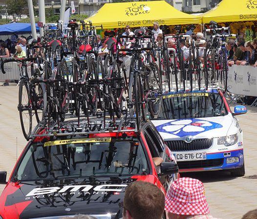 Le Touquet-Paris-Plage - Tour de France, étape 4, 8 juillet 2014, départ (C30).JPG