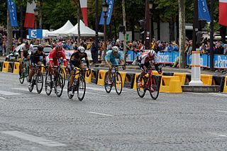 Champs-Élysées stage in the Tour de France Wikimedia list article