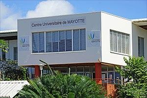 Dembeni - Le centre universitaire de Mayotte in Dembeni