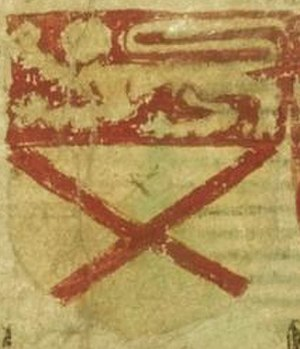 Earl of Carrick - Arms of the Earl of Carrick as depicted in Balliol roll.