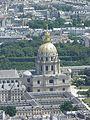 Le dôme des Invalides, vu du troisième étage (Paris).jpg