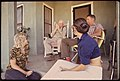 Leakey Residents. The Harmonica Player Is 93 Years Old, 07-1972 (3703570577).jpg