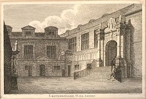 Worshipful Company of Leathersellers - Image: Leatherseller's Hall, London