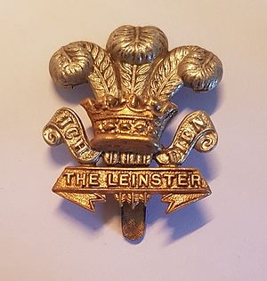 Prince of Wales's Leinster Regiment (Royal Canadians) - Badge of the Prince of Wales's Leinster Regiment