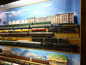 Leksaksmuseet - Model trains 02.JPG
