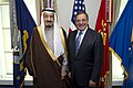 Leon Panetta with Prince Salman bin Abd al-Aziz Al Saud at the Pentagon April 2012.jpg