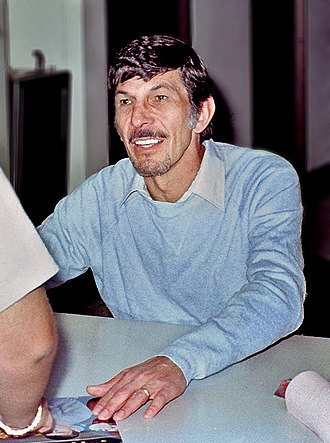 Leonard Nimoy - Nimoy at a 1980 sci-fi convention