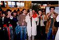 Les fanfarons des Beaux-Arts au stand du Carnaval de Paris au Salon de l'Agriculture 1998 - 3.jpg
