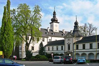 Letohrad Town in Pardubice, Czech Republic