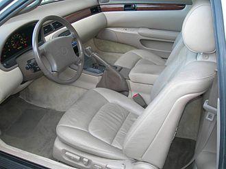 Lexus SC - Interior