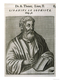 Libanius ancient Greek philosopher