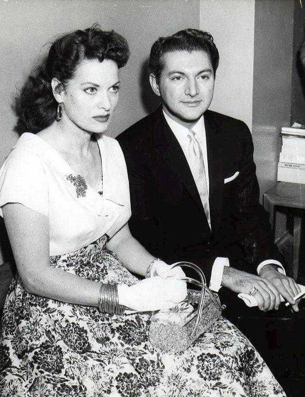 Liberace and O'hara - 1957